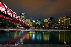 Peace Bridge- Calgary Canada