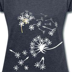 Pusteblumen T-Schirt für Frauen | Idee09
