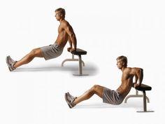 Фитнес дома: как правильно отжиматься от скамейки. - Спорт Успех | Спорт Успех
