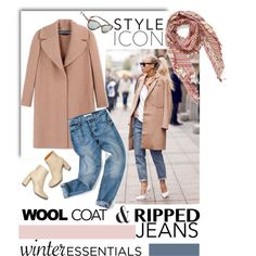 A fashion look from November 2015 featuring Rochas coats, STELLA McCARTNEY ankle booties and Vince Camuto scarves. Browse and shop related looks.