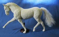 Amazing needle felted horse