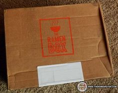 Check Out The Ramen Box, An Instant Noodle Subscription Service - The Ramen Rater unboxes a sample box from a subscription instant noodle service