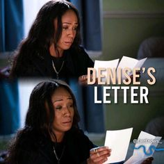Credit to @eastenders._ : Next Week: Denise reads a letter! But who is it from? #EastEnders