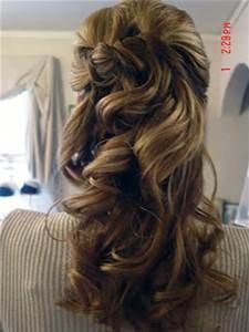 mother of the bride hairstyles half up - Bing Images