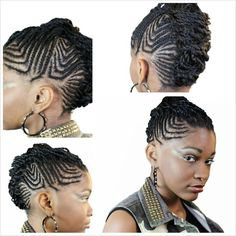 Braids and mohawk done by me. #scalpbraids #mohawk #naturalhairstyles #aliciabarnes #stylesbyshawn. 704-258-2673