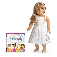 "American Girl Doll of the Year Chrissa Friend ""Gwen"" 2009 - http://www.kidsdimension.com/american-girl-doll-of-the-year-chrissa-friend-gwen-2009/"