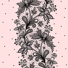 lace: Lace background vector illustration on a pink background.