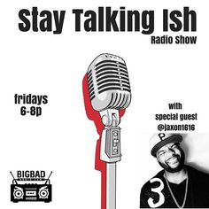 Tune in to the @staytalkingish radio show LIVE tonight from 6-8pm EST using the FREE #BigBadRadio app! We'll have special guest @jaxon1616 from @sexwithstrangerspodcast coming through.  Make sure to call in to contribute to the conversation at (855) 924-4223 Replay previous episodes in the OnDemand section of the FREE @BigBadRadio app or through the iTunes podcast app.  #philly  #phillysupportphilly #ish #internetradio #staytalkingishradioshow #blackradio  #staytalkingishpodcast…