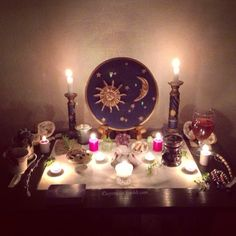 Altar- Pinned by The Mystic's Emporium on Etsy