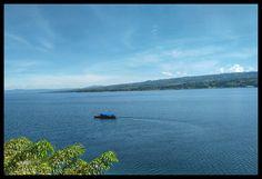 Toba lake.