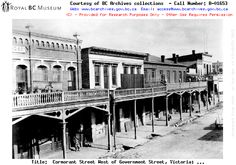 EARLY LIVING VICTORIA's CHINATOWN - COMMUNITIES IN B.C. - BC ARCHIVES TIME MACHINE