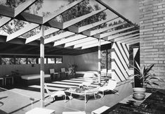 Case Study House 16, by Rodney Walker. Beverly Hills, 1947.