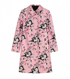 Diane von Furstenberg Amana Printed Wool and Silk-Blend Coat