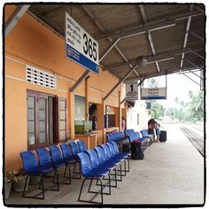 Trainstation in Aluthgama