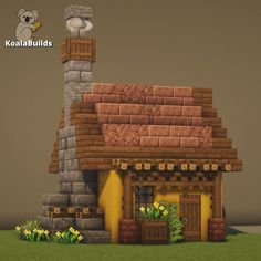 Minecraft House Plans, Minecraft Cottage, Minecraft Castle, Cute Minecraft Houses, Minecraft House Designs, Minecraft Bedroom, Minecraft Blueprints, Minecraft Creations, Minecraft Crafts