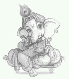 Images search results for ganesh drawing images from EMG Technologies. Ganesha Sketch, Ganesha Drawing, Lord Ganesha Paintings, Lord Shiva Painting, Ganesha Art, Jai Ganesh, Shree Ganesh, Shiva Art, Krishna Art