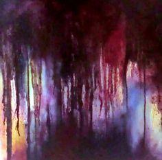Dark clouds 3 -  oil painting