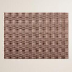 WorldMarket.com: Copper Alto Woven Vinyl Placemats, Set of 4