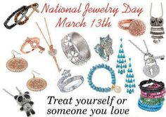 March 13. national Jewelry Day - Park Lane
