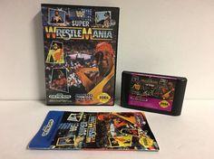 WWF Super WrestleMania (Sega Genesis, 1992) Complete   | eBay