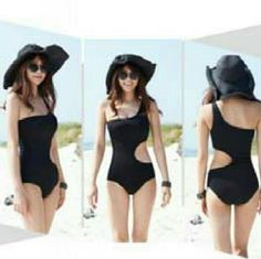 Black Swimsuit New black Swimsuit  in size medium top Fitts a cup size B-C. See all styles for more!  Follow me to see new items posted daily. Rima Imar  Swim One Pieces