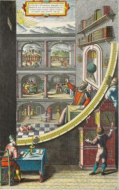 http://www.GraphicDesignNYC.net Tycho Brahe's Sculpture Garden of Scientific Instruments