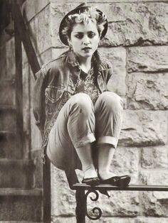 Madonna, vintage, 1982, the queen of pop!