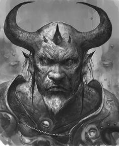 Morbid Fantasy • Demon concept by Leszek Woź