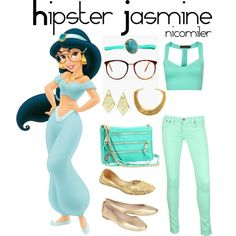 """HIpster Jasmine II"" by nicomiler on Polyvore"