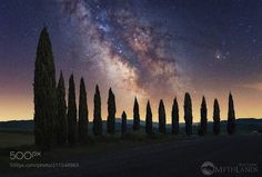 """""""Another world"""" Hi guys tonight I show you a recent shot taken in tuscany """"Val d Orcia"""" The atmosphere I lived in those areas was mystical spatial ... as if I had ended up in another world. I hope you like the shot. Good evening Alex Camera: Canon EOS 6D Lens: 35mm Don't forget to like the page or subscribe for more Milky Imagery! Image credit: http://ift.tt/2r7gJ7d #MilkyWay #Galaxy #Stars #Nightscape #Astrophotography #Astronomy"""