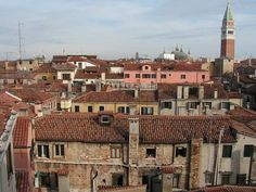 Venice rooftops Rooftops, Personal Photo, Big Ben, Venice, Paris Skyline, Country, City, Building, Travel