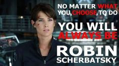 Our favourite Agent Maria, lives a secret life of Robin Scherbatsky. Read more about her double life on www.thetwistverse.blogspot.com