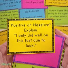 Self-Esteem and Positive Thinking Task Cards by Pathway 2 Success Self Esteem Activities, Activities For Kids, Social Work, Social Skills, Confidence Building, Thinking Skills, School Counseling, Task Cards, Small Groups