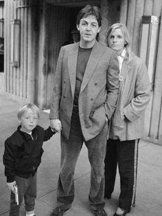 Paul, Linda and James <3