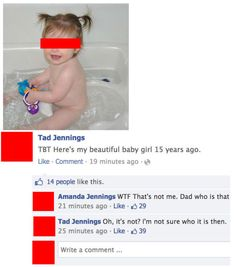 Classic Dad Facebook Fails