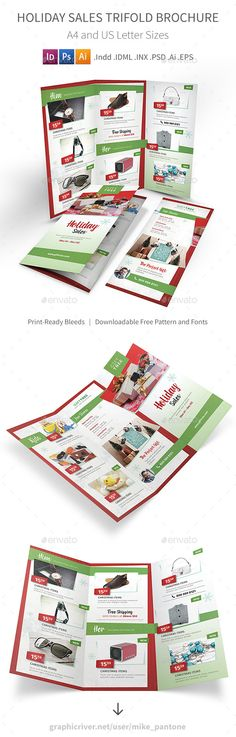 Supermarket Products Catalog Brochure Template | Brochure Template