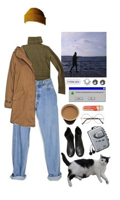 """""""you say """"good morning"""" at midnight"""" by urmypoison ❤ liked on Polyvore featuring Joseph, Levi's, Topshop, Woolrich, Coal, Sony, Target and Sunday Somewhere"""