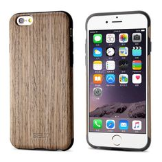 iPhone 6S Case / iPhone 6 Case, BELK Wooden Case Series - Natural Pliant Processed Wood Back Cover for iPhone 6 & iPhone 6S Case - 4.7 inch, Ultra Slim and Original Fit with Rubber Bumper: Sports & Outdoors