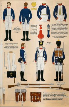 Line infantry french 1812