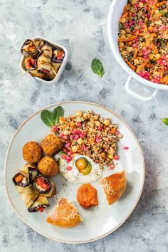 You searched for Sommer - Seite 3 von 10 - babyrockmyday.com Quick Weeknight Meals, Falafel, International Recipes, Chana Masala, Eggplant, Entrees, Main Dishes, Curry, Good Food