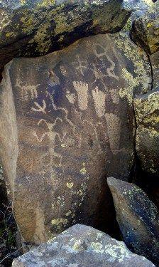 Heritage Park Petroglyphs in Show Low, Arizona. (Photo/Kendra Yost)