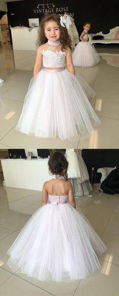 Cute A Line Sweetheart White and Peach Tulle Short Homecoming ...