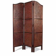 3-Panel Handcarved Screen | King Ranch