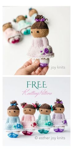 Baby Knitting Patterns, Knitted Doll Patterns, Doll Patterns Free, Baby Sweater Knitting Pattern, Crochet Pattern, Knitting For Charity, Knitting For Kids, Knitting Yarn, Free Knitting