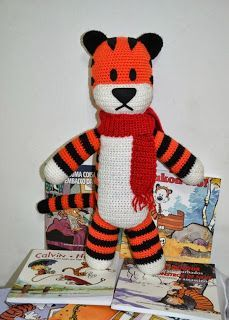 free Hobbes crochet pattern