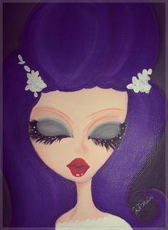 Sposa...violetta, lolita, violet hair,bride