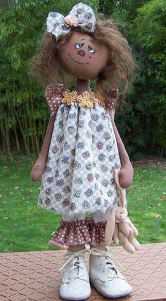 PatternMart.com ::. PatternMart: Annie Sweetems Doll Pattern #234 PM