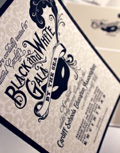 Cardiff Gala custom invitation design Letterpress Wedding Invitations