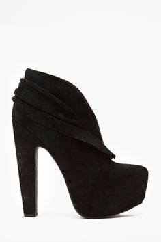 Every girl needs a pair of booties with mega heels to make those legs look miles high.