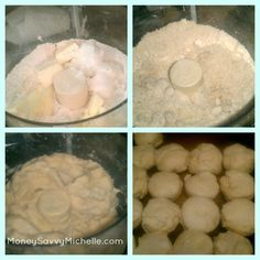 Food Processor Biscuits